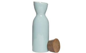 Кувшин керамический с крышкой бирюзовый