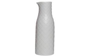 Кувшин серый керамический