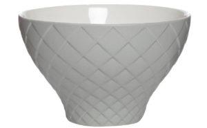 Салатник серый керамический большой