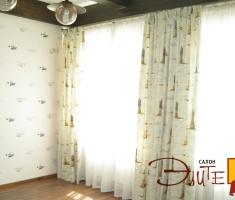 Богатая коллекция тканей позволяет оформить комнату ребенка в соответствии с его вкусами и увлечениями на данном этапе развития.