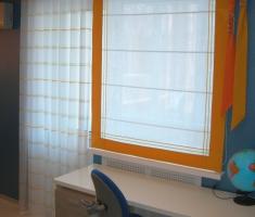 Однотонные ткани и ткани-компаньоны  -вертуозно  решают цветовые«задачи».