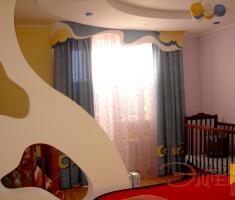 """""""Пучины морские""""- идеальный вариант для оформления комнаты мальчика."""