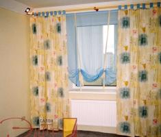 Детские ткани для штор украсят комнату Вашего ребенка и принесут настроение беззаботности и радости.