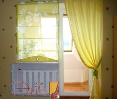 При выборе тканей для оформления интерьера комнаты для ребенка нужно помнить, что стилистика должна нести отпечаток легкости и непринужденности.
